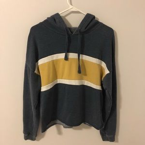 Blue and Yellow Hoodie